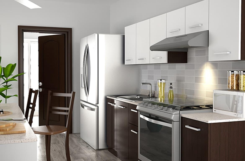 Dise A Tu Cocina Para Espacios Peque Os The Home Depot Blog # Muebles De Cocina Hazlo Tu Mismo