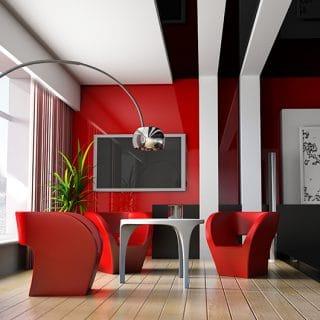 decoración, pantalla, electrónica, iluminación, planta, piso, laminado