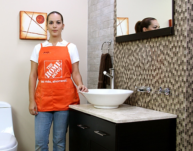 Cuanto Mide Un Baño Con Tina:Cómo instalar mallas de vidrio – The Home Depot
