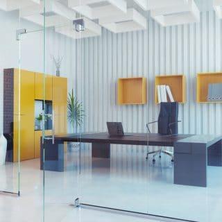 piso de oficina moderno
