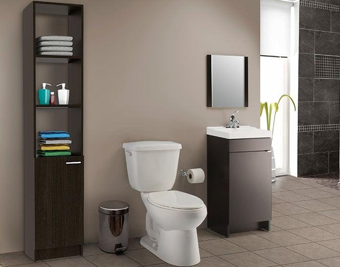 Muebles para banos de home depot for Accesorios para muebles de bano