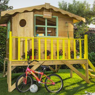 materiales para hacer una casita de madera