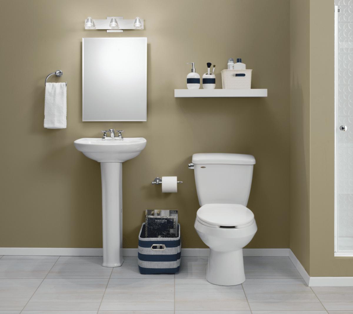 7 ideas para ba os peque os the home depot blog - Presupuesto para hacer un bano ...