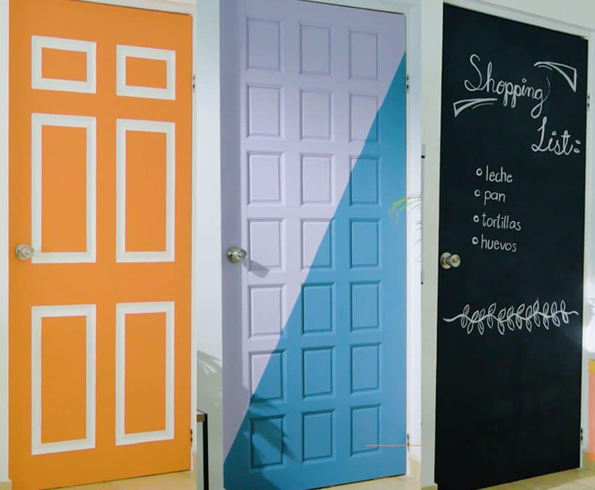 Como Personalizar Las Puertas De Tu Hogar The Home Depot Blog