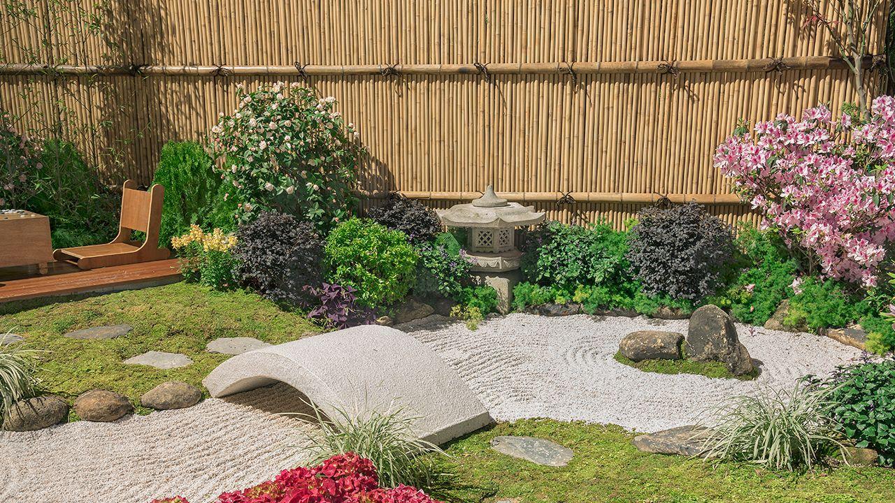 Imprime el estilo japonés en tu jardín